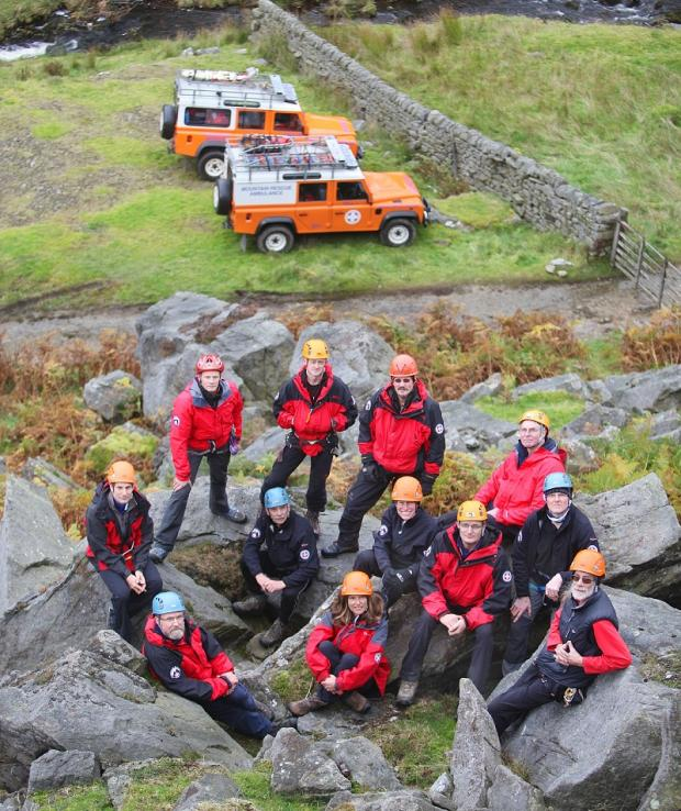 Craven Herald: The  Upper Wharfedale Fell Rescue Association