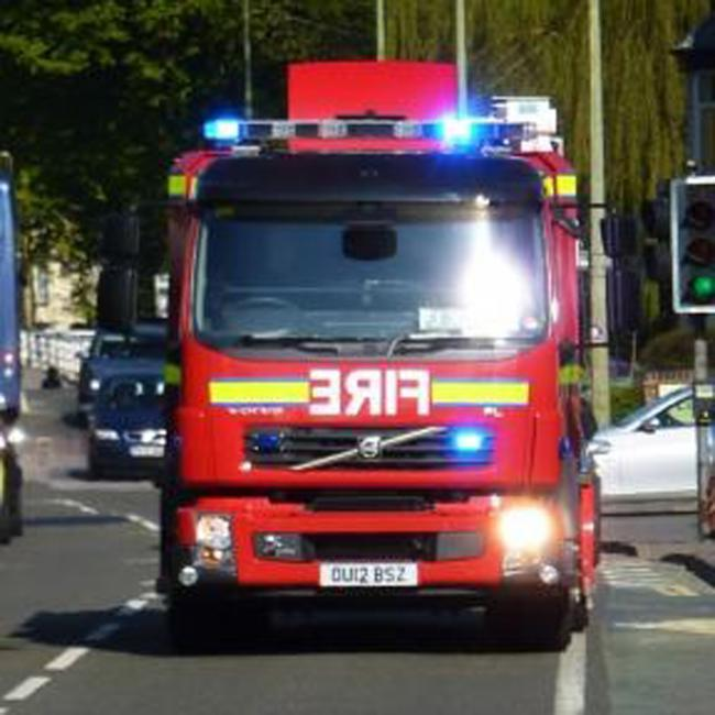 Car fire believed to have been caused by electrical fault