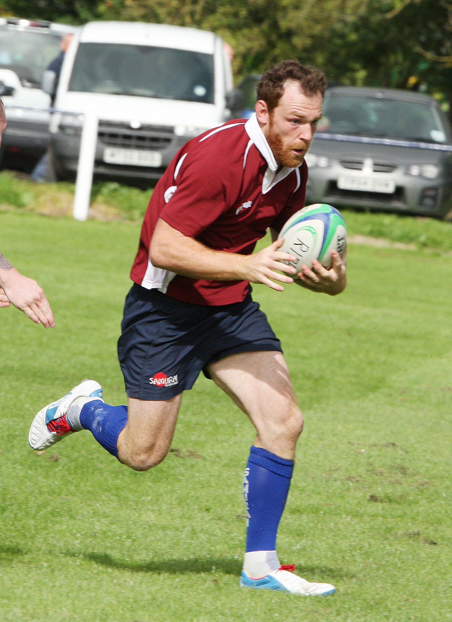 Jonathan Richards scored a fine try