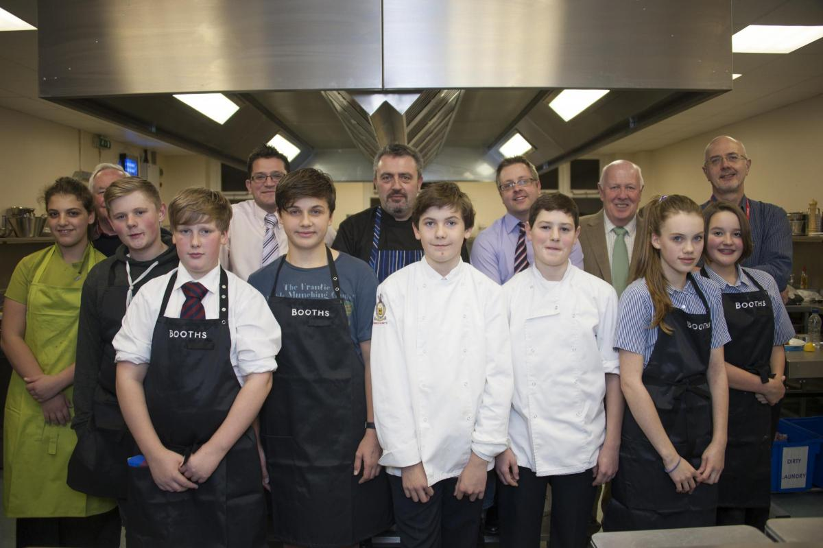 5a9fcfd74d3ee9 Craven youngsters impress in Rotary Young Chef competition
