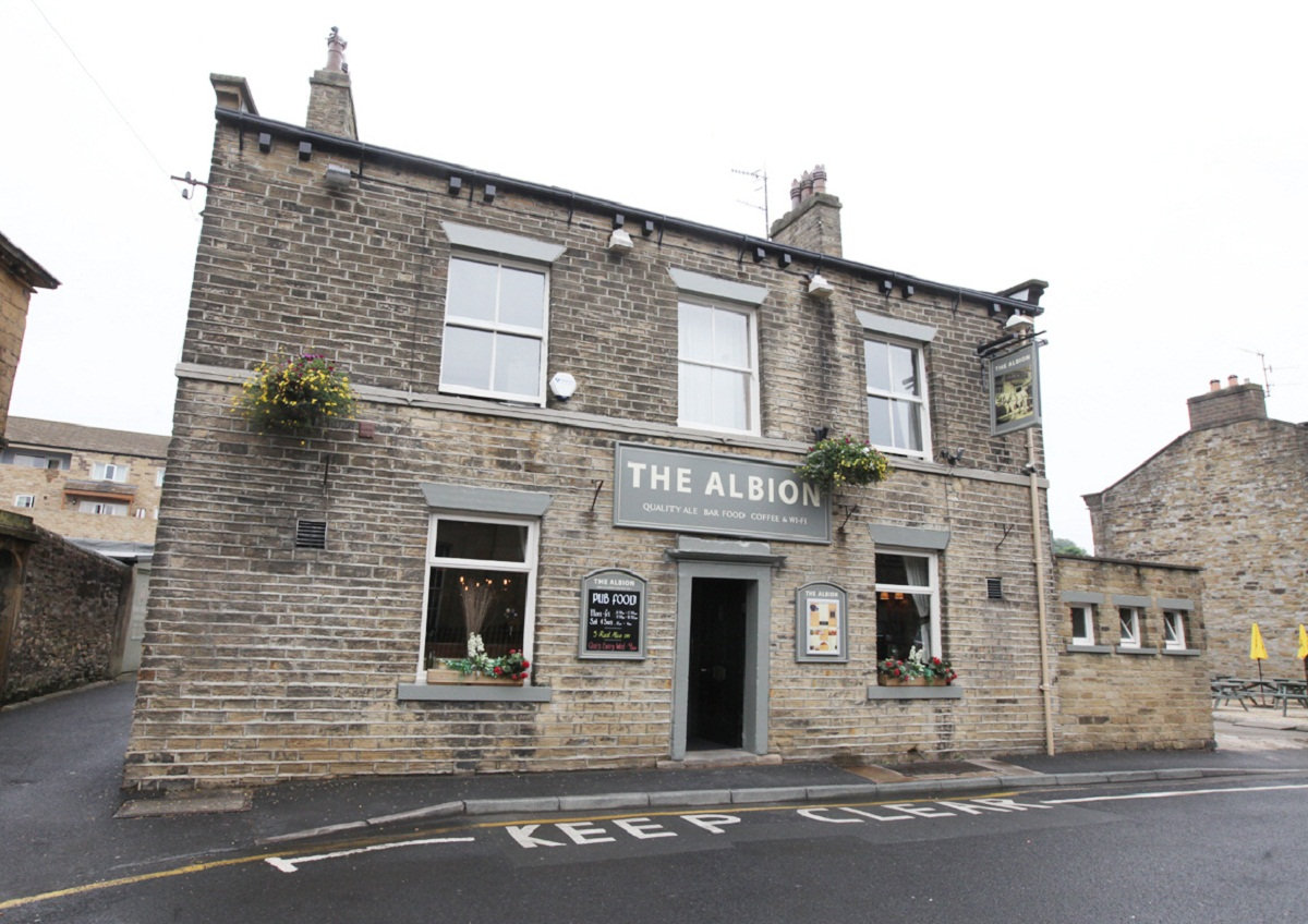 The Albion pub in Skipton