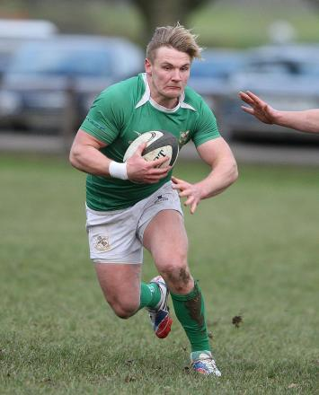 Tom Davidson's 64th-minute try was the clincher for the Green Machine