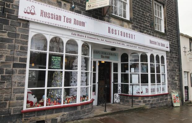 Craven Herald: The Russian Tea Room