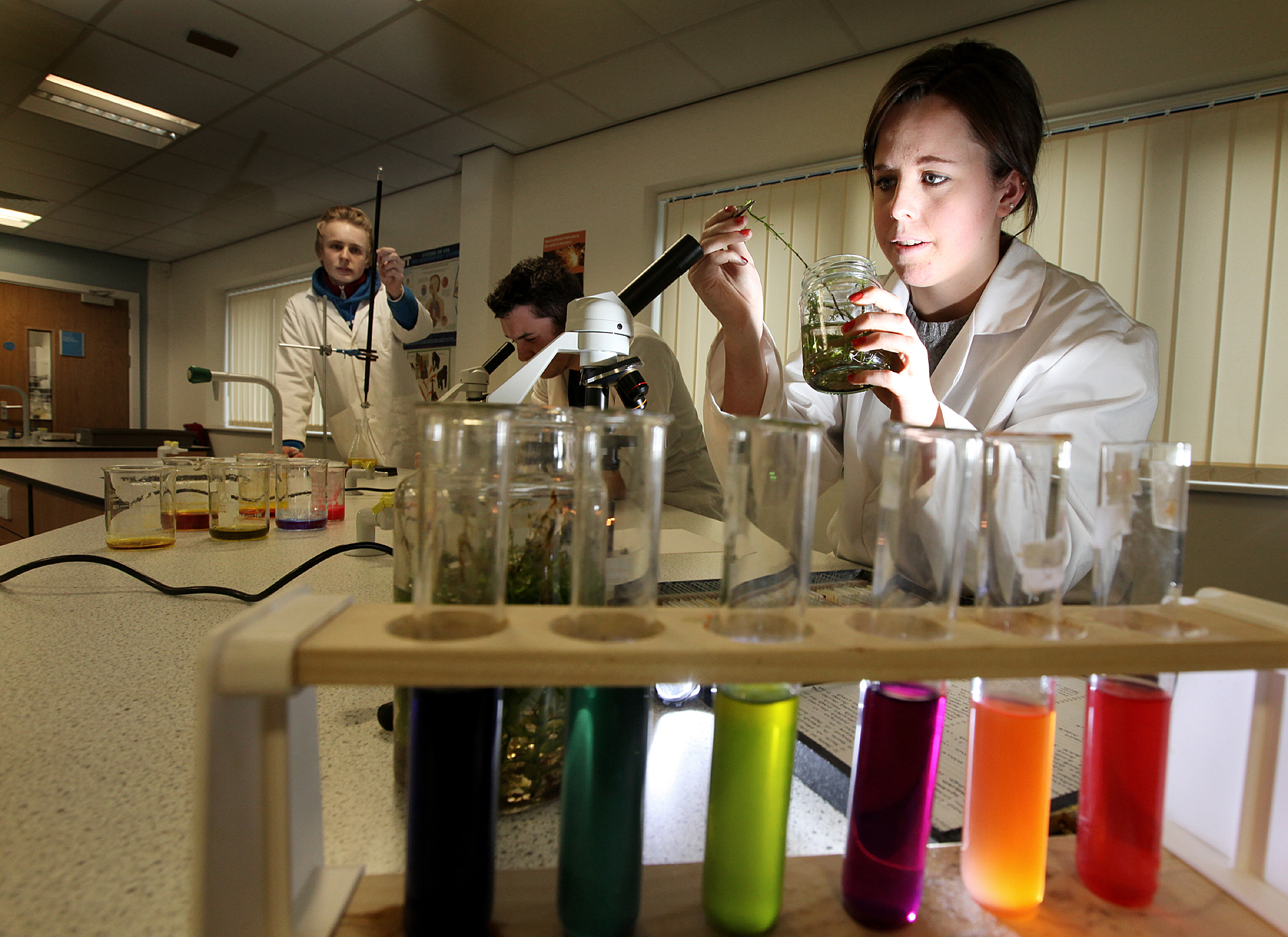 'CSI Craven' students enjoy modern study methods