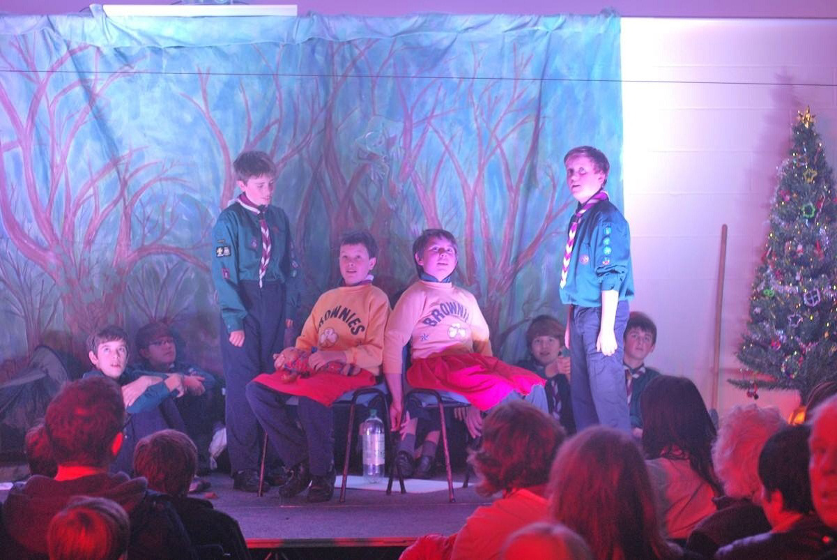Addingham Scouts perform A Scouting Christmas Carol
