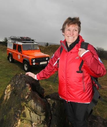 Jacqui Todd, who was one of the first female volunteers to go out on call-outs with Upper Wharfedale Fell Rescue