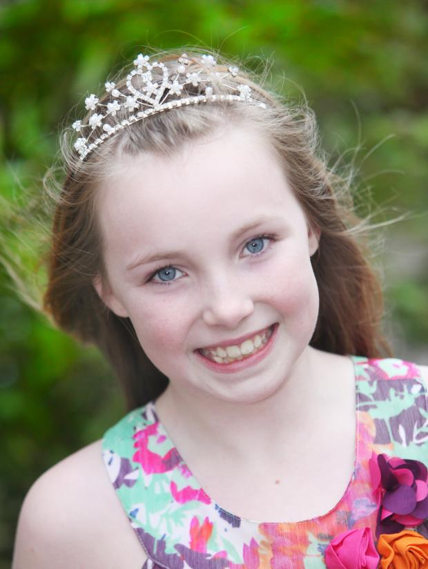Craven Herald: The 2013 Skipton Rosebud Queen Livvy Ball