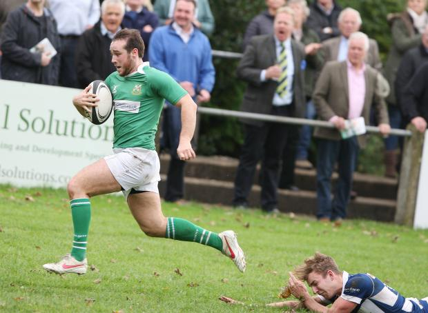 Craven Herald: Joe Donkin was in the points for Wharfedale