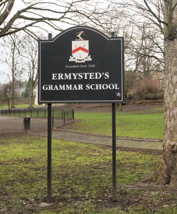 Ermysted's Grammar School came second in North Yorkshire in the performance tables