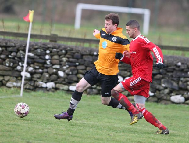 John Beckwith hit a hat-trick for Settle United