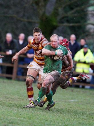 Wharfedale skipper Chris Steel's injury made life tougher for his side