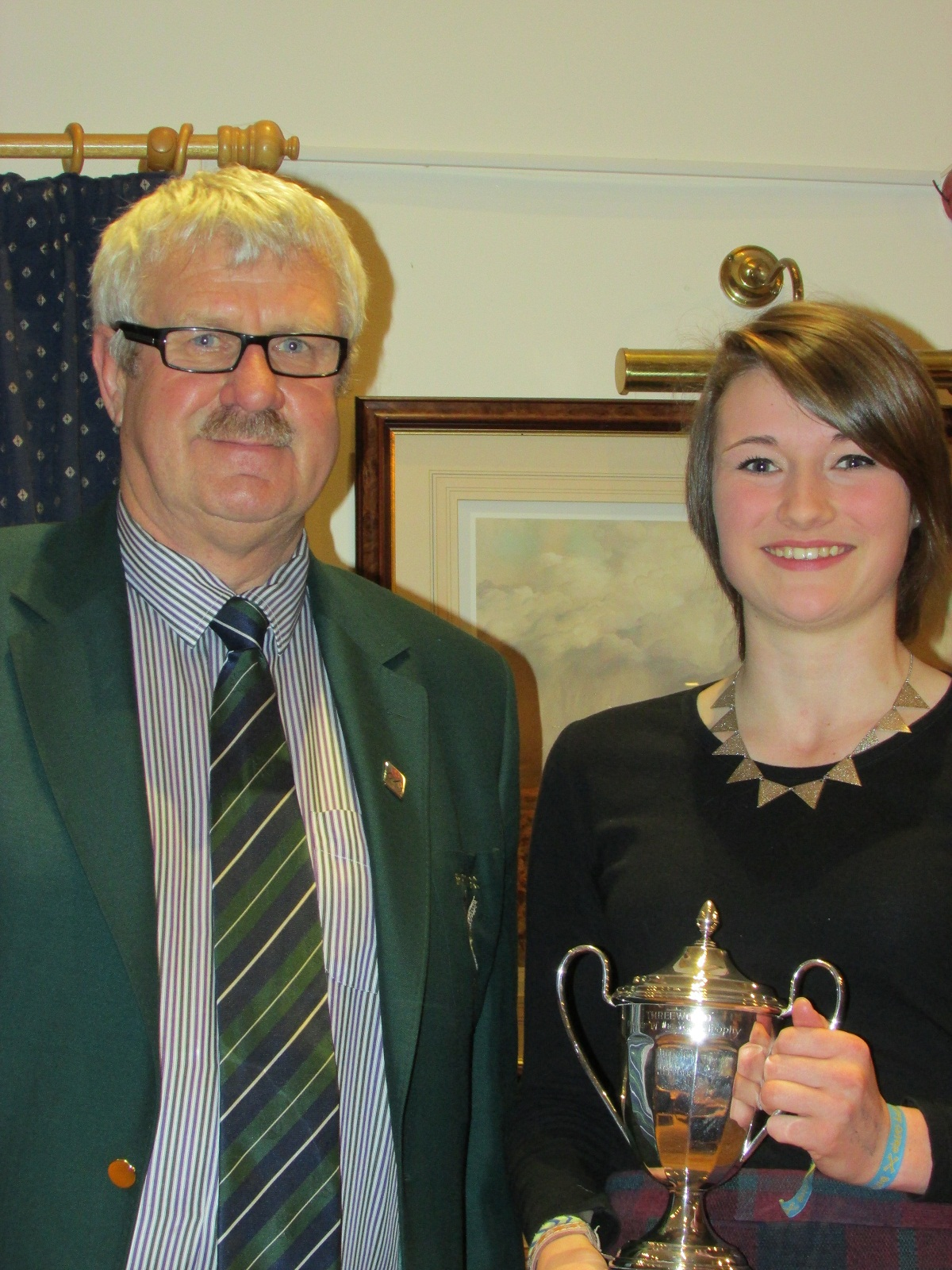 Lucy Eaton scoops top award as Skipton golfers collect their 2013 honours