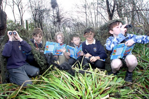 Dangerous Writing Club for Boys members, from left, Oliver Carter, Tyler Sykes, James Pickard, Forlan Edgar, Kameron Kapardia and Sam Johnstone