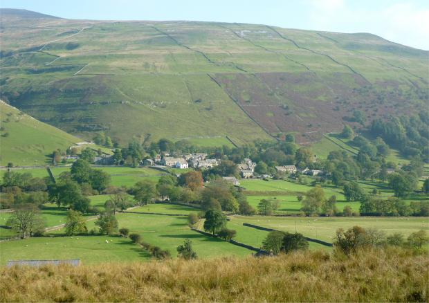 Buckden, where camping and parking will be available for the Grand Depart