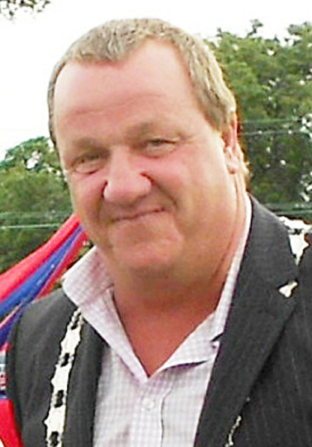 Silsden mayor Councillor Chris Atkinson