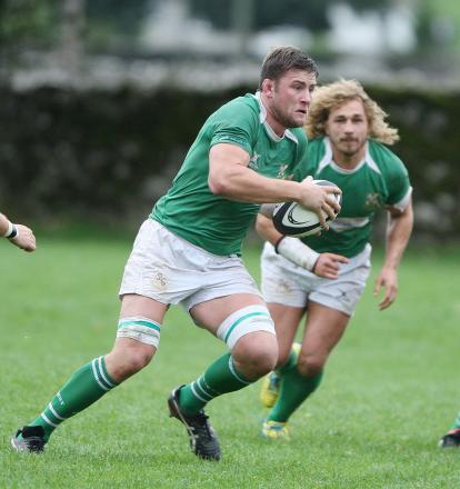 Rob Baldwin won't be wearing the armband tomorrow night against an Ireland Clubs XV