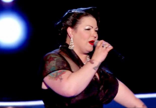 Craven Herald: Earby's Kiki DeVille who is competing in The Voice