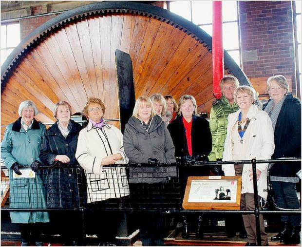 Inner Wheel members at the mill