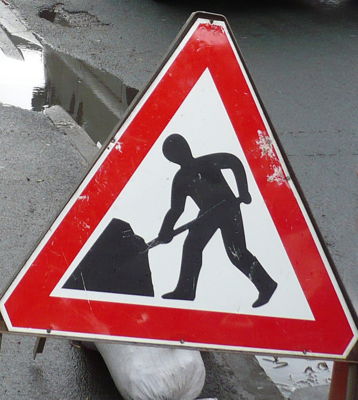 Roadworks are due to start on Monday