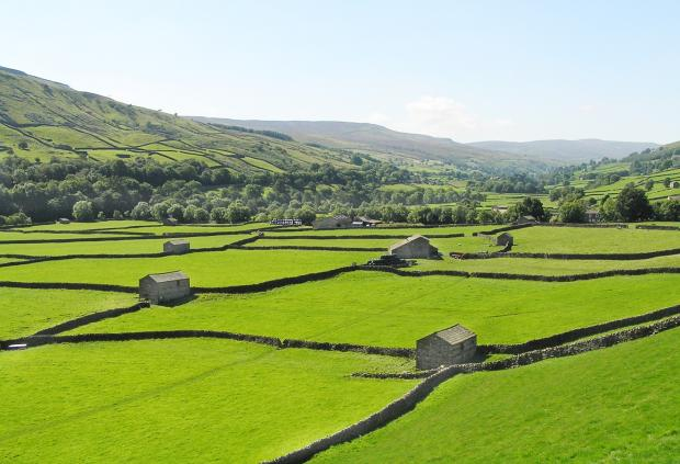 Barns in the Yorkshire Dales