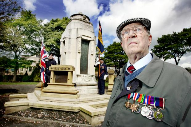 RAF veteran James Dickson