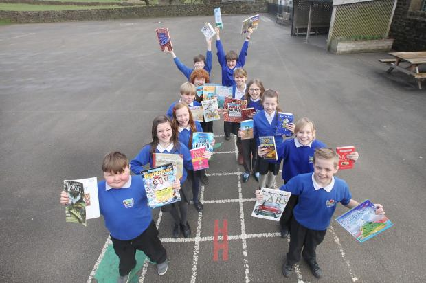 Embsay Primary School pupils are  taking part in a three week long Readathon event