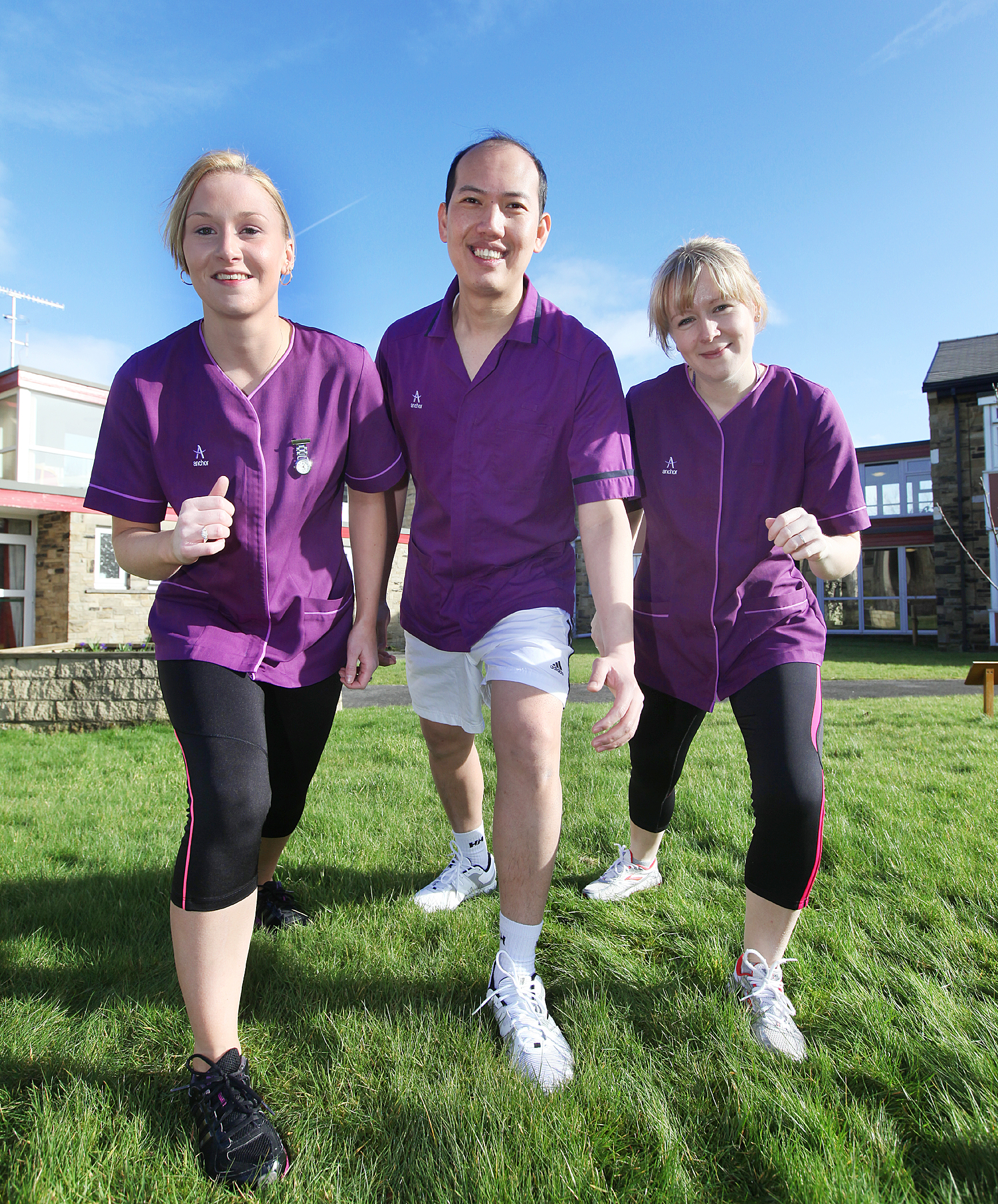 Colleagues get set for Keighley BigK run