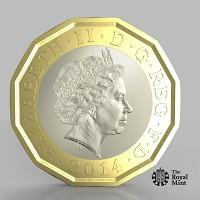 Craven Herald: The new one pound coin announced by the Government will be the most secure coin in circulation in the world (HM Treasury/PA)