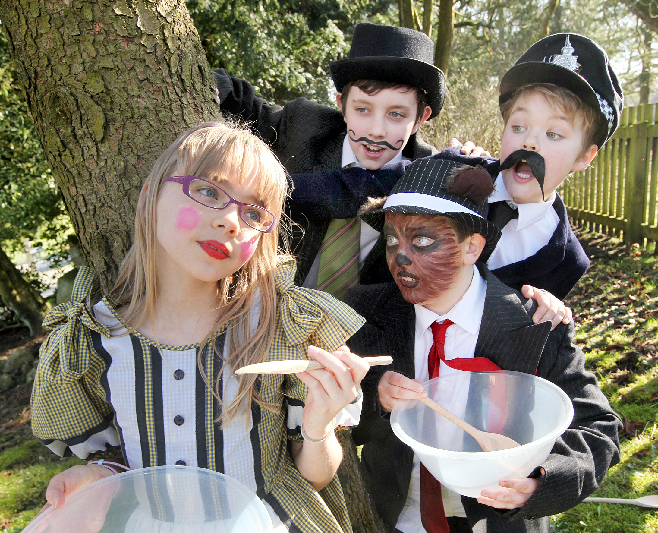 CEREAL THRILLER: Among the cast are Poppy Coultas, Elliot Taylor, Jack Harrison and Theodore Jackson