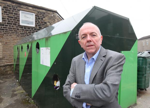 TOO EXPENSIVE: Graham Beck speaks out about the decision to remove the recycling bins