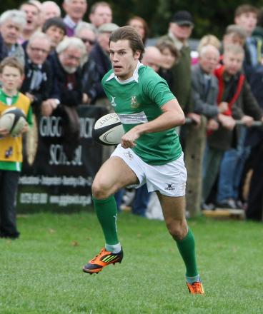 Winger Scott Jordan scored two of Wharfedale's three tries