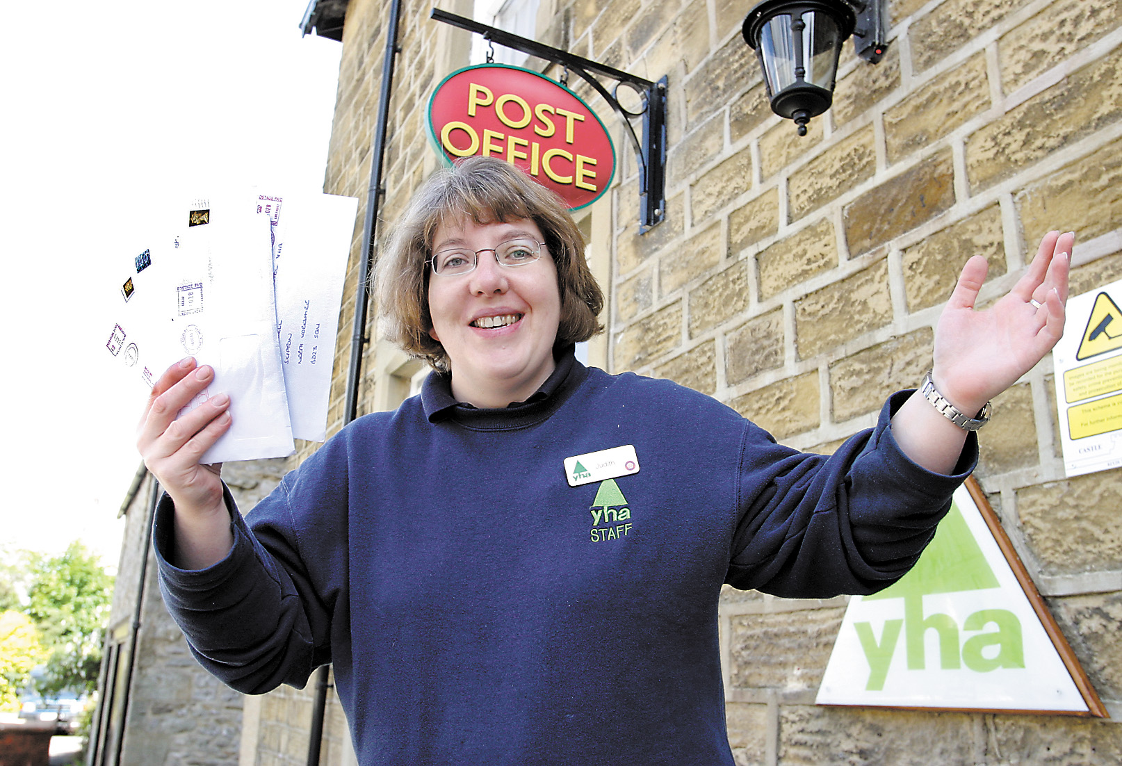 FLASHBACK: Kettlewell Post Office moves to the youth hostel in 2004. Pictured is youth hostel manager Judith Mallams