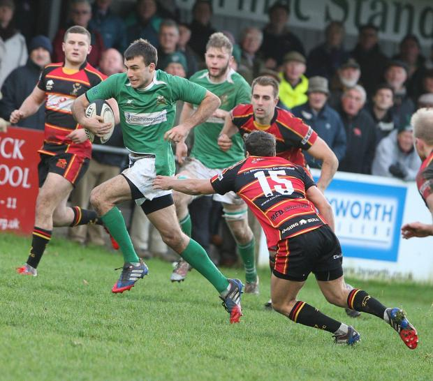 Wharfedale loanee Christian Georgiou returns on the wing for Leeds Carnegie