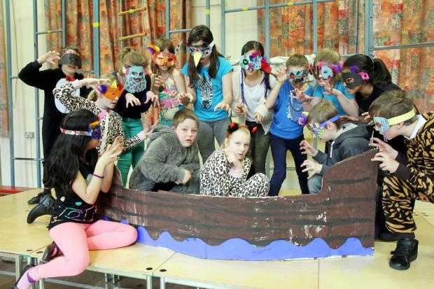 WILD JOURNEY: Hothfield pupils bring Where the Wild Things Are to life on stage