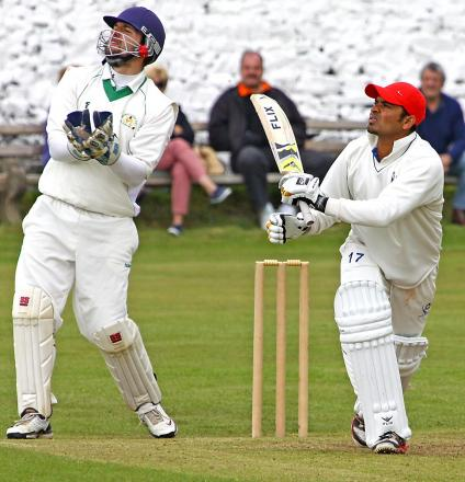 Imran Khalid was going well when Settle's match was abandoned