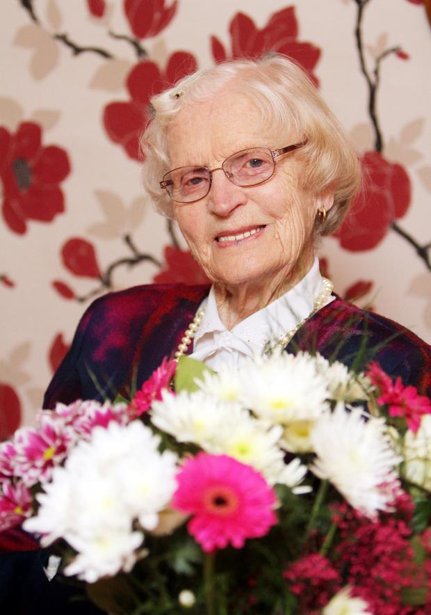 Craven Herald: Party time for Margaret's 100th