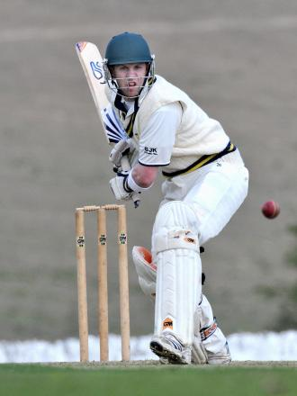Jamie Pickering scored 158 not out for Otley in their 370-4