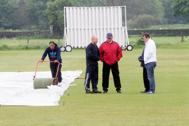 Efforts to save Silsden's Division Three match at home to Menston proved futile on Saturday as not a ball was bowled due to rain