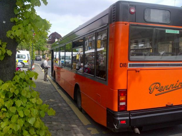 One of the last Pennine buses to run in Skipton