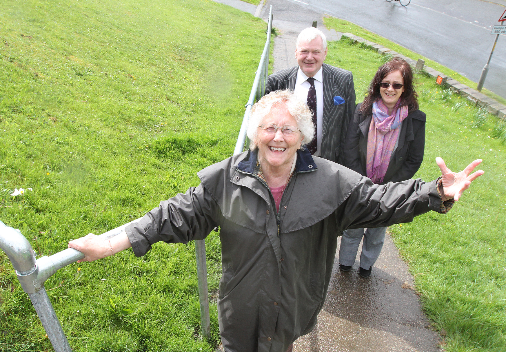 Skipton pensioner wins fight for new handrail