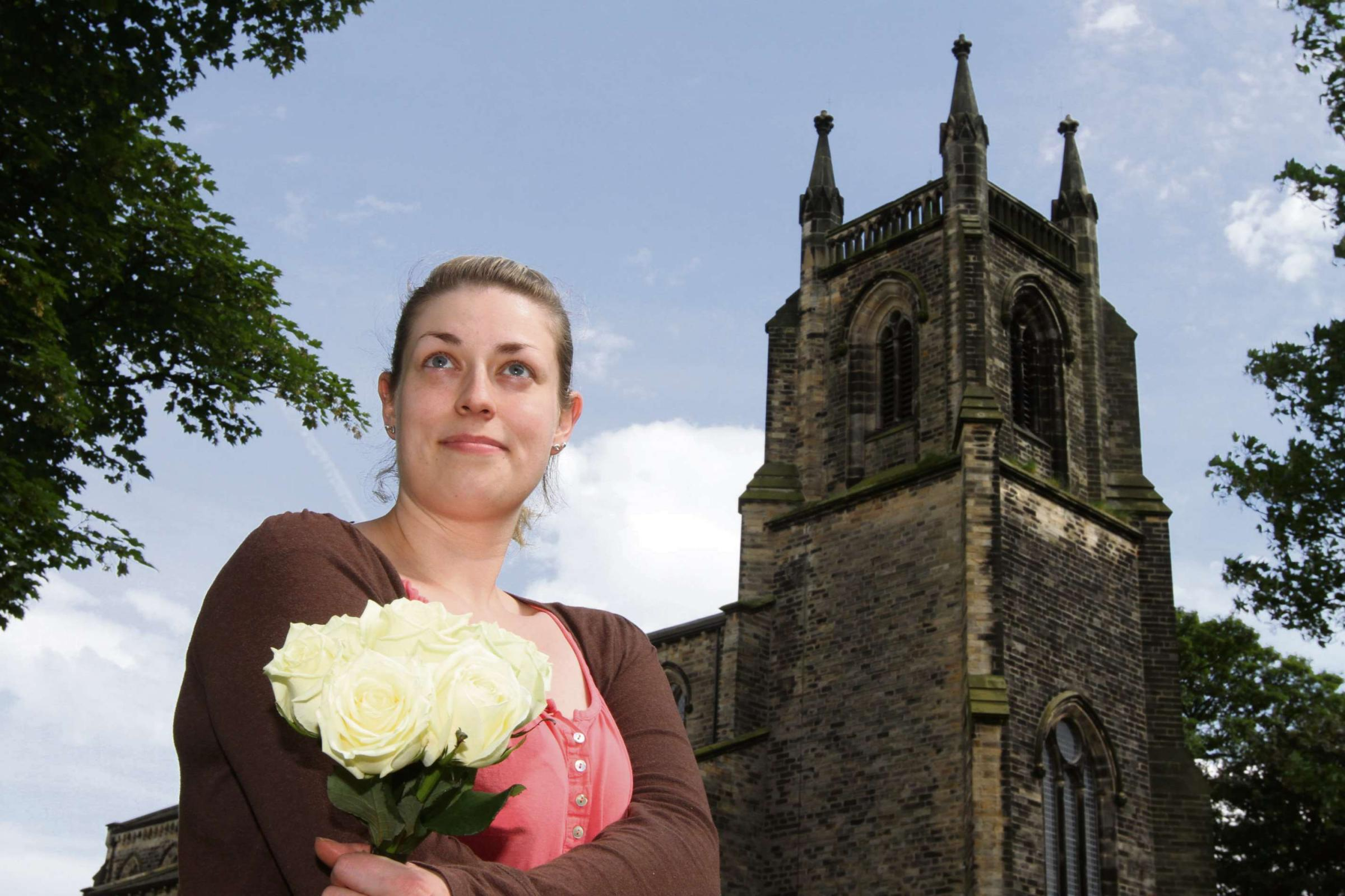 Skipton Tour day bride may have to walk to church
