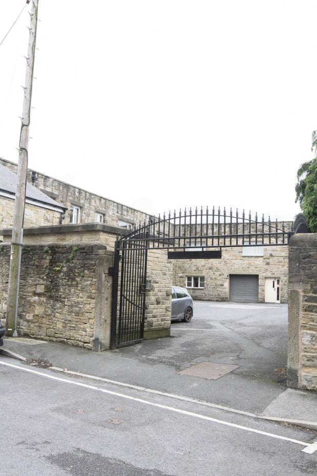 Craven Herald: The Whitakers Chocolates factory in Keighley Road, Skipton, which has been identified by Craven District Council officers as a possible site for development