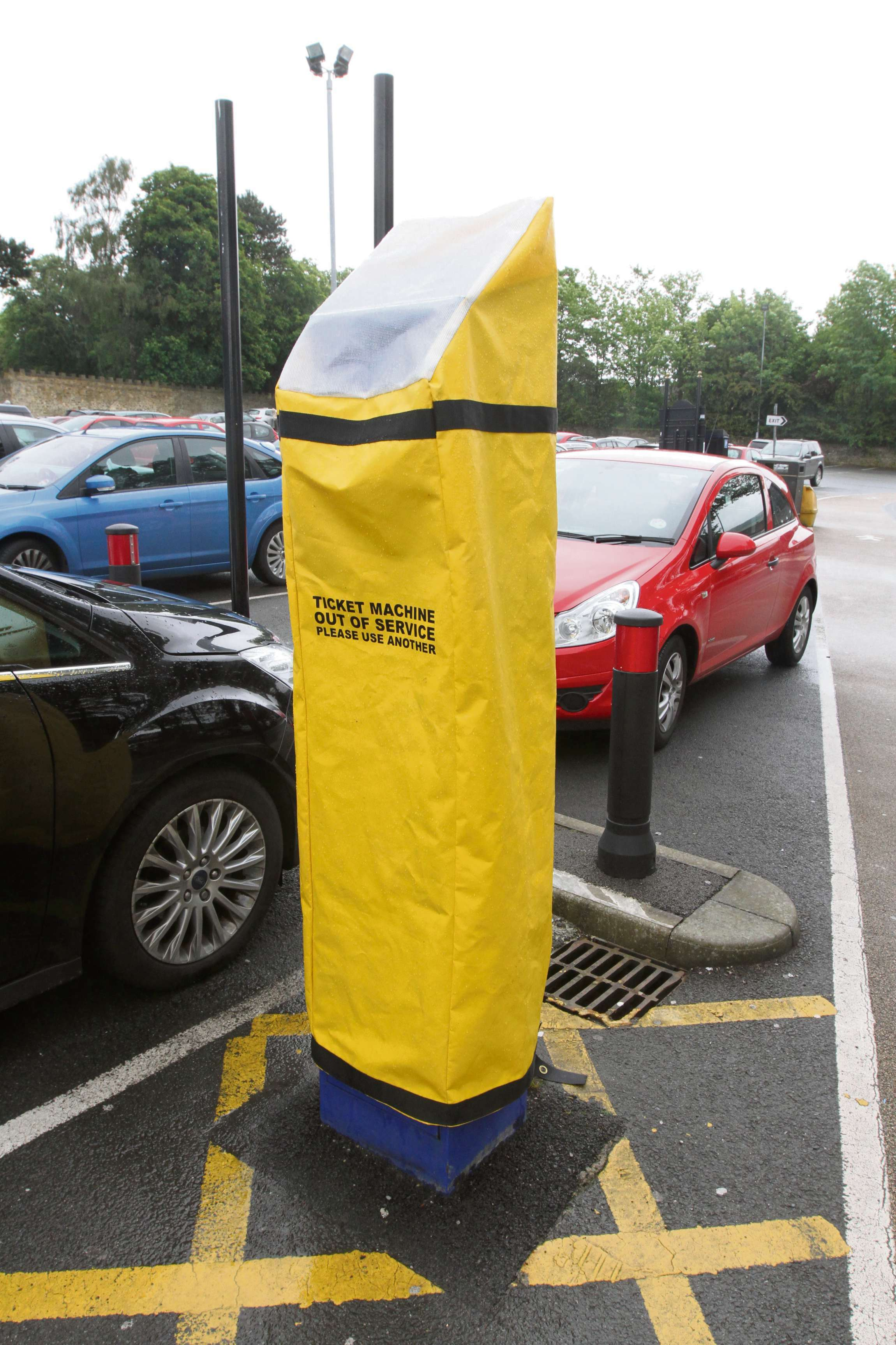 Craven Council pledges to do better over pay and display machines