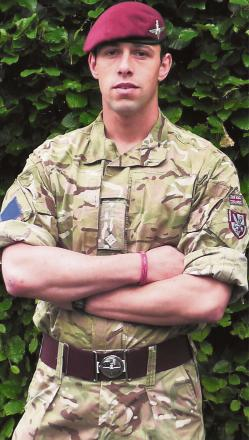 Former Settle College student James Metcalfe has been awarded the coveted maroon beret of the Parachute Regiment