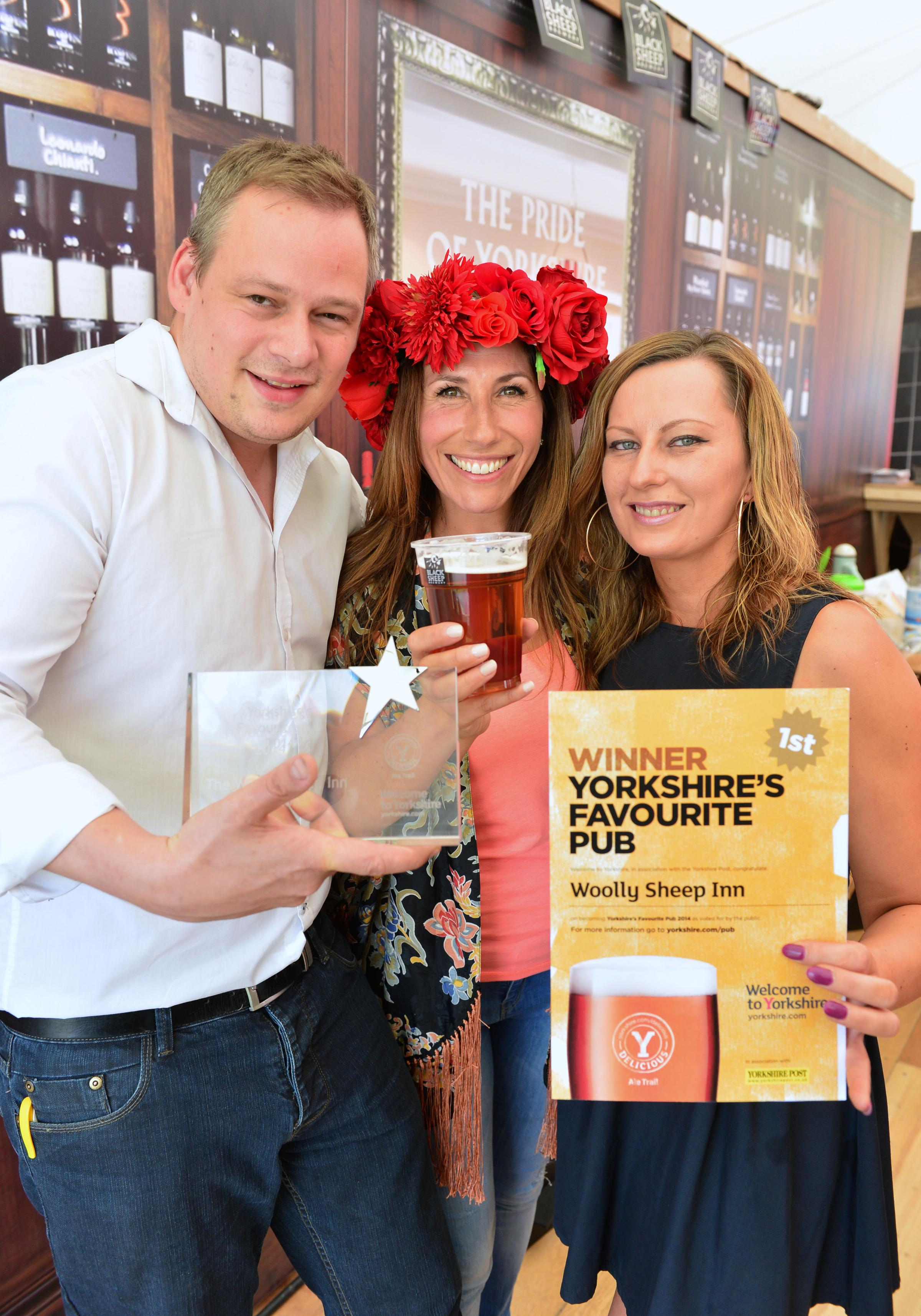 Woolly Sheep is Yorkshire's most popular pub