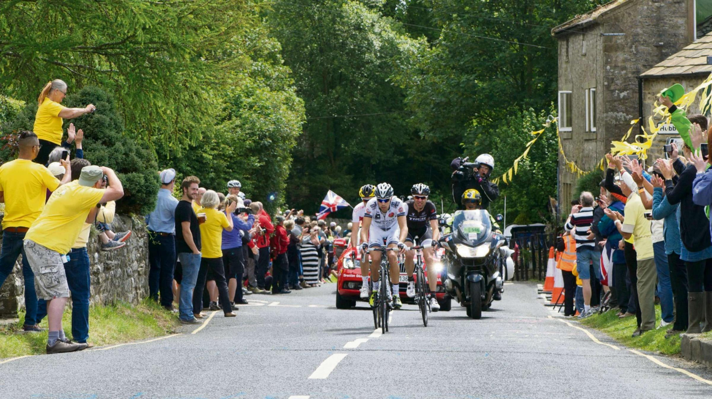 The Tour de France passes through Yorkshire. Picture by Brian Cleckner