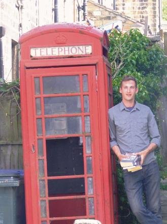 Paul Cross would like to set up a book swap library in this disused phone box in Cowling