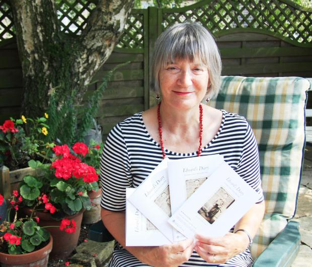 Primary school teacher Beverley Anne Reay who has written a book about the First World War
