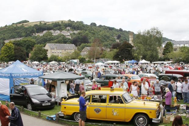 More than 600 cars are expected at the Hebden Bridge Vintage Weekend