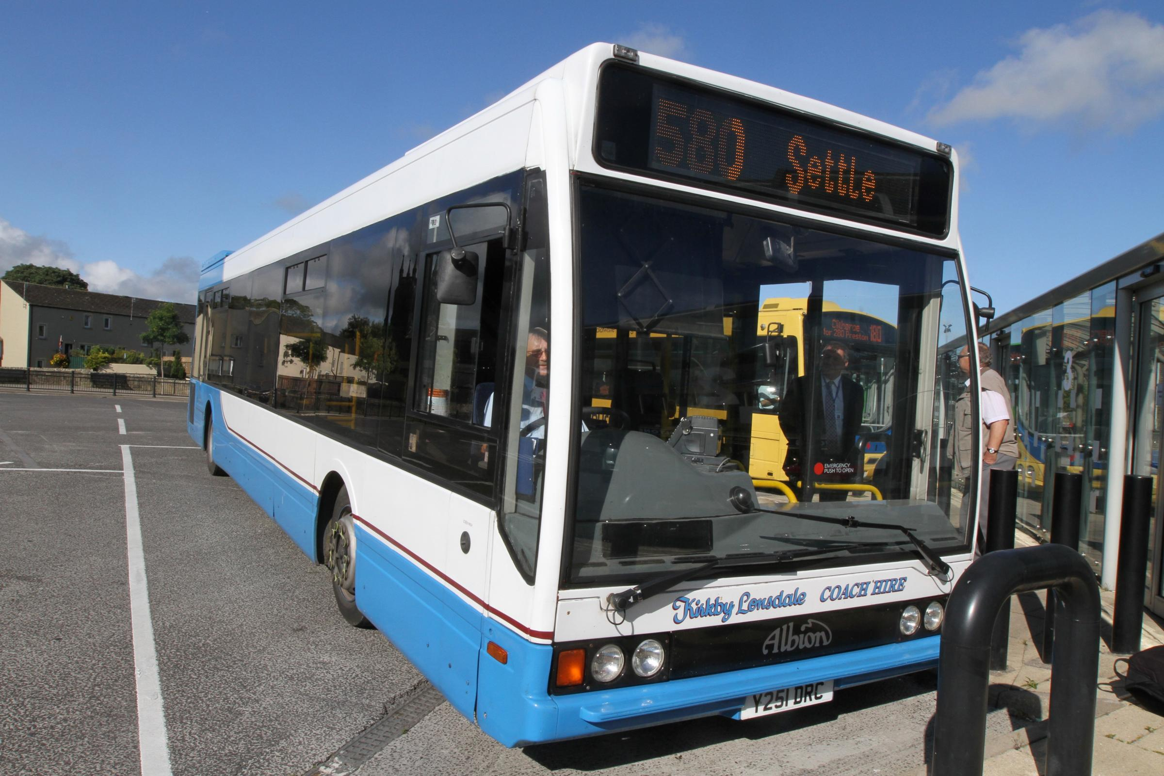New bus service is launched